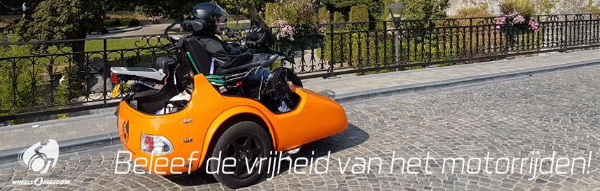 Motortochten voor gehandicapten